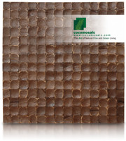 Espresso Luster - Cocomosaic Coconut Shell Tiles