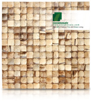 Natural Bliss - Cocomosaic Coconut Shell Tiles
